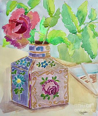 Painting - Granny's Vase by Patsy Walton