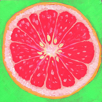 Royalty-Free and Rights-Managed Images - Grapefruit by Jennifer Lommers