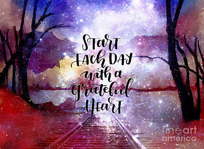 New Years - Grateful Heart by Laurie