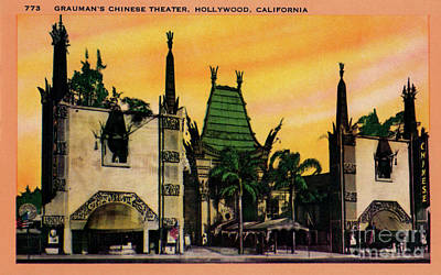 David Bowie - Graumans Chinese Theatre by Sad Hill - Bizarre Los Angeles Archive