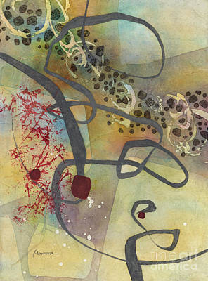 Target Threshold Watercolor - Gray Passage 1 by Hailey E Herrera
