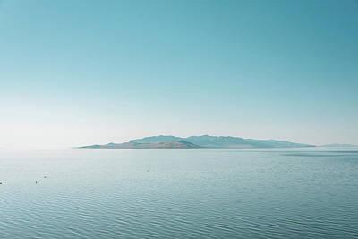 Target Threshold Watercolor - Great Salt Lake 01 by Jon Bilous