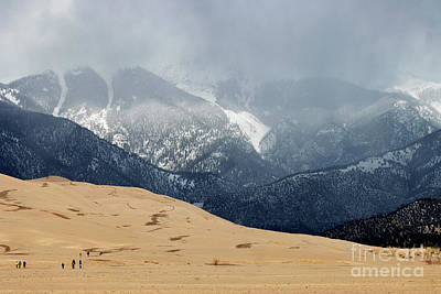 Steven Krull Royalty-Free and Rights-Managed Images - Great Sand Dunes National Park and Preserve by Steven Krull