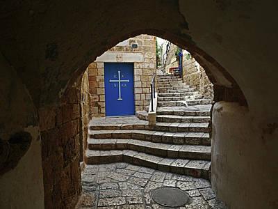 Olympic Sports - Greek Church by Alan Socolik