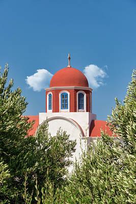 Photograph - Greek Orthodox Church by Manolis Tsantakis