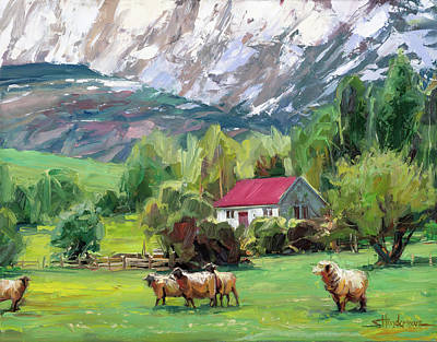 Classic Christmas Movies - Green Pastures by Steve Henderson