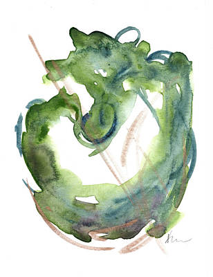 Painting - Greeting Card 13 by Katrina Nixon