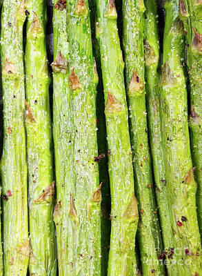 Photograph - Grilled Asparagus by Tim Hester