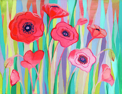 Royalty-Free and Rights-Managed Images - Groovy Poppies by Jennifer Lommers