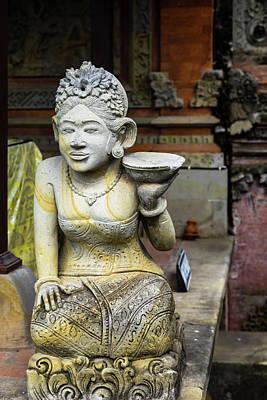 Lake Life - Guardian Statue, Balinese Temple by Aashish Vaidya