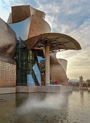 Lego Art - Guggenheim Museum Bilbao Spain by Joan Carroll