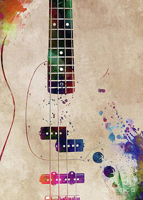 Olympic Sports - Guitar art 11 #guitar #music by Justyna Jaszke JBJart