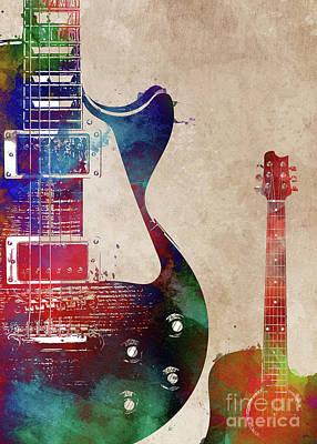 Lady Bug - Guitar art 8 #guitar #music by Justyna Jaszke JBJart