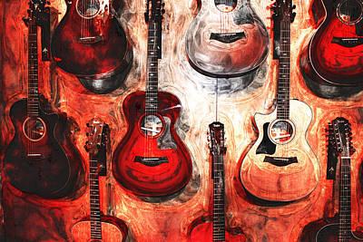 Photograph - Guitar Grit by Mediamerge - Dan Roitner