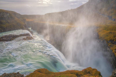 Royalty-Free and Rights-Managed Images - Gullfoss in the Mist  by Darren White