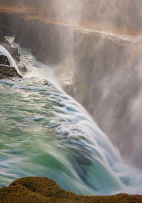 Royalty-Free and Rights-Managed Images - Gullfoss Mist by Darren White