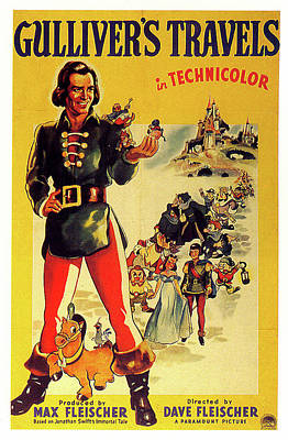 Royalty-Free and Rights-Managed Images - Gullivers Travels poster 1939 by Stars on Art