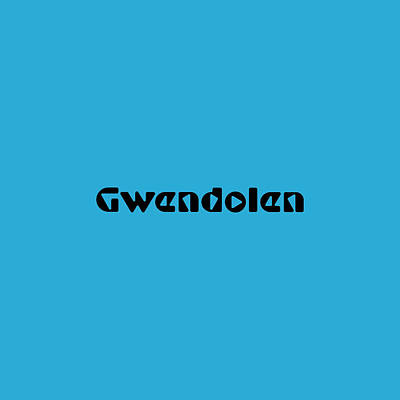 Royalty-Free and Rights-Managed Images - Gwendolen by TintoDesigns
