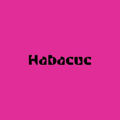 Royalty-Free and Rights-Managed Images - Habacuc by TintoDesigns