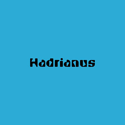 Royalty-Free and Rights-Managed Images - Hadrianus by TintoDesigns