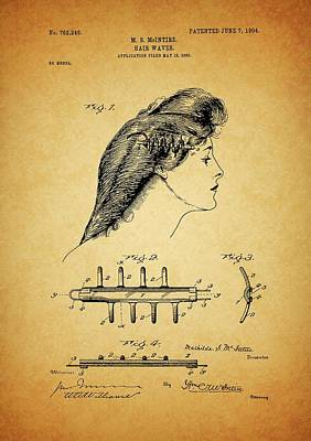 Crazy Cartoon Creatures - Hair Waver Patent by Dan Sproul