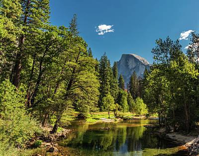 Photograph - Half Dome View by David Hintz