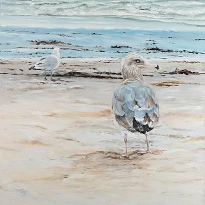 Painting - Hampton Gull by Susan E Hanna