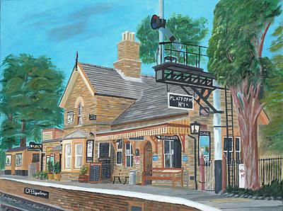 Giuseppe Cristiano - Hampton Loade station by David Bigelow