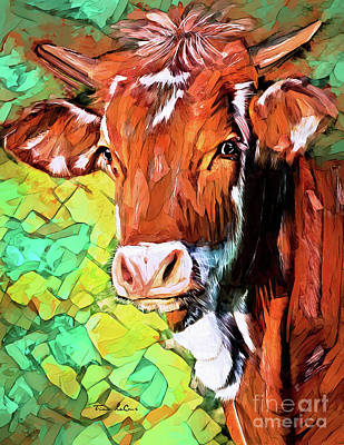 Superhero Ice Pop - Handsome Heifer  by Tina LeCour