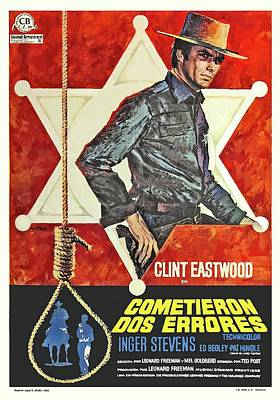 Royalty-Free and Rights-Managed Images - Hang Em High, with Clint Eastwood, 1968 by Stars on Art