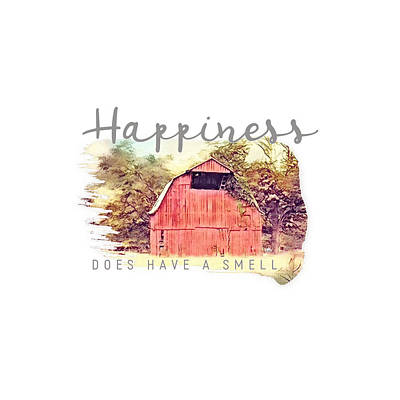 Kitchen Collection - Happiness Does Have a Smell by Julie Hamilton