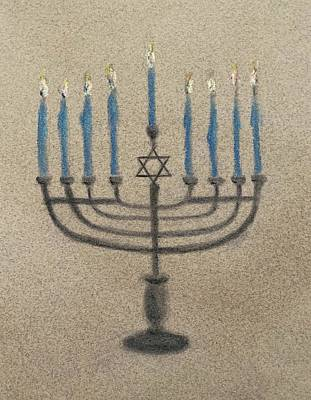 Beers On Tap - Happy Chanukah  by Sheila Mashaw