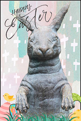 Grace Kelly - Happy Easter Peter Cottontail by Diann Fisher