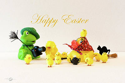 Photograph - Happy Easter by Torbjorn Swenelius