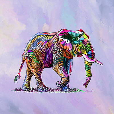 Featured Tapestry Designs - Happy Giant by Anthony Mwangi