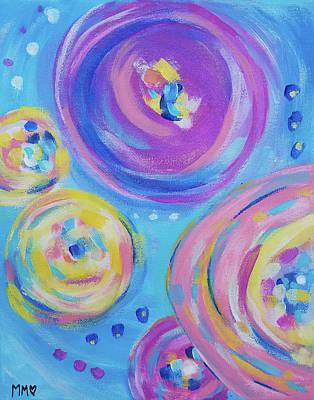 Painting - Happy Round You by Marieke Mertz