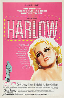 Royalty-Free and Rights-Managed Images - Harlow, with Carol Lynley, 1965 by Stars on Art