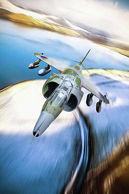 Achieving - Harrier GR3 by Airpower Art