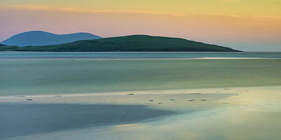 Whimsical Flowers - Harris Sunset by Dave Bowman