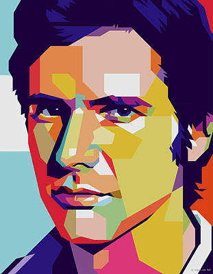Mixed Media Royalty Free Images - Harrison Ford Royalty-Free Image by Stars on Art