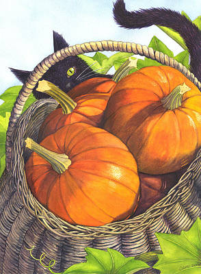 Comic Character Paintings - Harvest by Catherine G McElroy