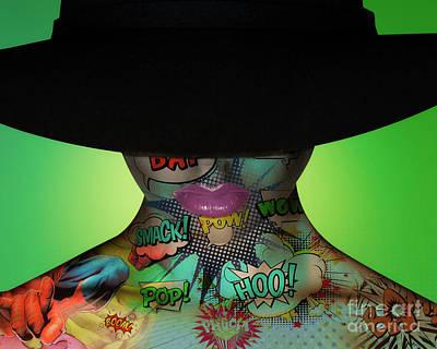 Erik Brede Rights Managed Images - Hat Woman Royalty-Free Image by Erik Brede
