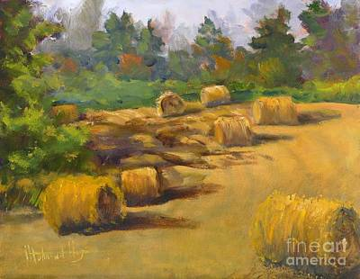 Go For Gold - Hay Field by Mohamed Hirji