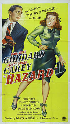 Royalty-Free and Rights-Managed Images - Hazard, with Paulette Goddard and MacDonald Carey, 1948 by Stars on Art