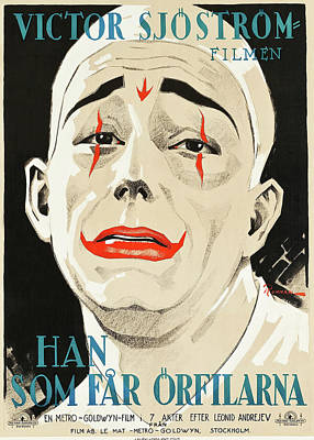 Royalty-Free and Rights-Managed Images - He Who Gets Slapped, with Lon Chaney and Norma Shearer, 1924 by Stars on Art