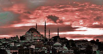 Surrealism Digital Art - Heaven on Earth - Turkey - No 215 - Surreal Art by Celestial Images