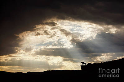 Photograph - Heavenly Cowboy by Shelley Paulson