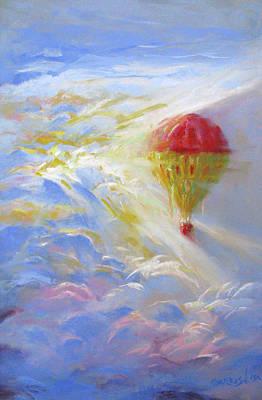 Drawing - Heavenly Flight by David Garrison
