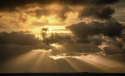 Photograph - Heavenly Sunrise by Peter McCabe