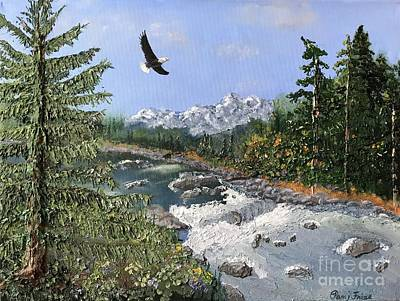 Relief - Heavenly View by Pam Fries